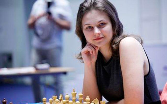 Украинская шахматистка одолела начемпионате мира врапиде