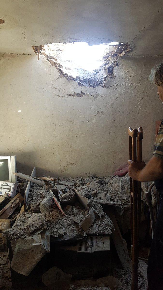 Наслідки обстрілів на Донбасі: опубліковані нові фото (1)