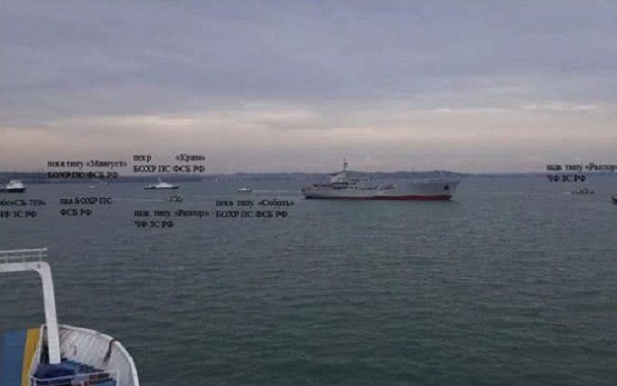 Стало відомо про нові провокації РФ в Азовському морі