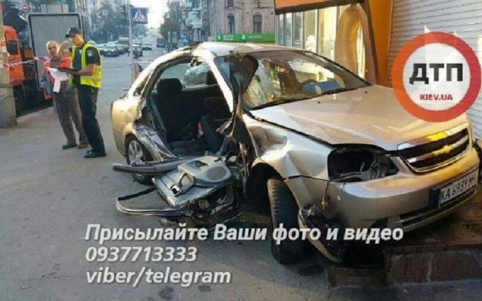ДТП з поліцією в центрі Києва: стала відома трагічна подробиця