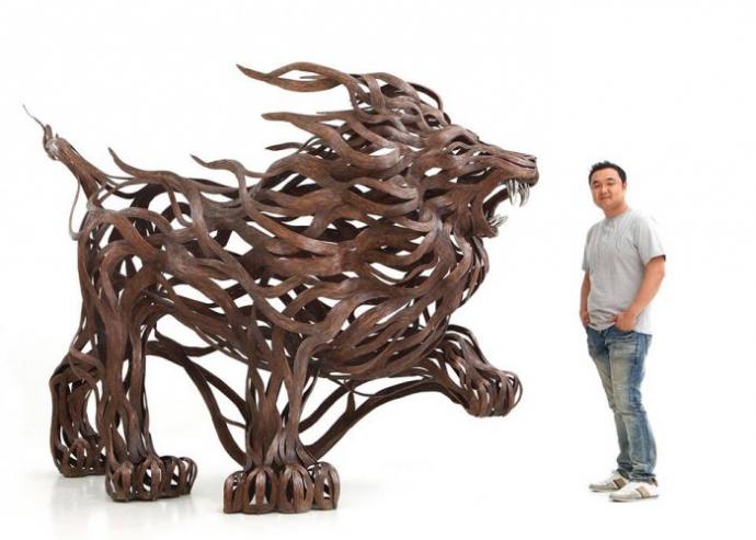 Енергія металевих скульптур (8 фото)
