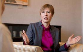 Президентку Естонії жорстко критикують через зустріч з Путіним