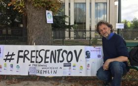 Свободу Сенцову: во Франции объявили бессрочную голодовку у посольства России