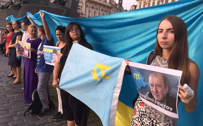 У світі пройшла акція на підтримку відомого в'язня Путіна: опубликовані фото
