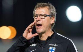 Фінляндія назвала склад на футбольну битву з Україною