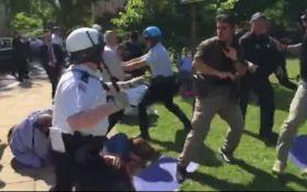 У США охорона Ердогана побила протестуючих, є постраждалі: з'явилося відео