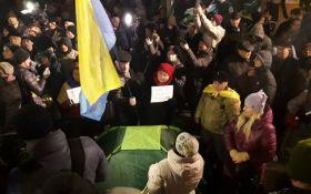 На Майдані в центрі Києва сталися сутички