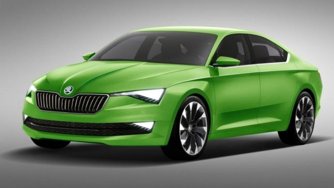 Skoda покажет дизайн будущих машин в Женеве