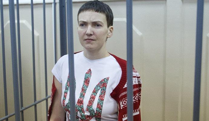Савченко поклали під крапельницю