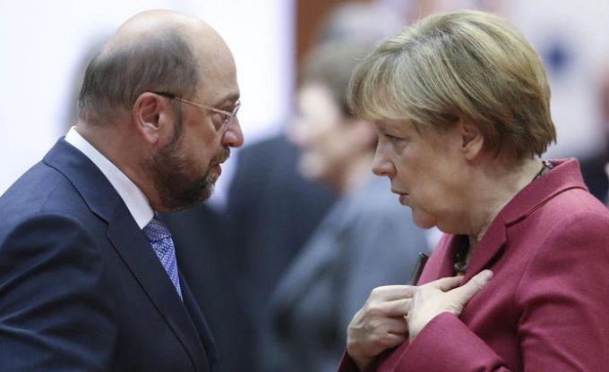Блок Меркель исоциал-демократы договорились окоалиции