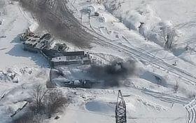 Відплатили з лишком: з'явилося відео потужного удару ЗСУ по позиції бойовиків на Донбасі