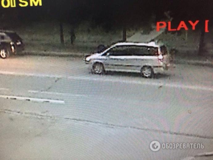 Викрадення чиновника в Києві: з'явилися розповідь свідка і фото машини злочинців (1)