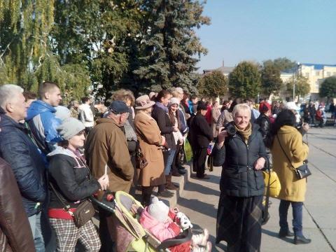 День захисника України в Житомирі відзначили урочистою ходою почесної варти (8 фото) (7)
