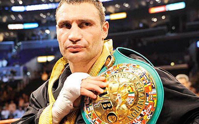 Кличко объявлен вечным чемпионом мира по боксу