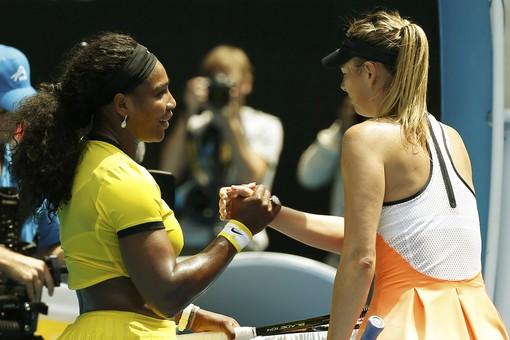Шарапова уступила Серене Уильямс в четвертьфинале Australian Open