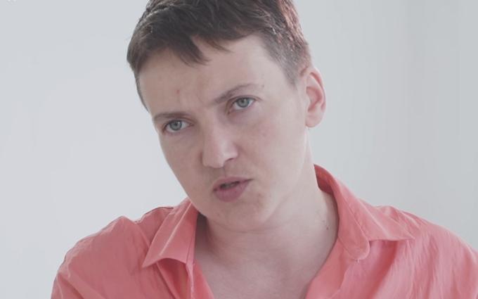 Савченко розповіла, як її погрожували вбити в російській в'язниці: опубліковано відео