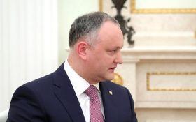 Додона намагалися вбити: молдовські політики б'ють на сполох