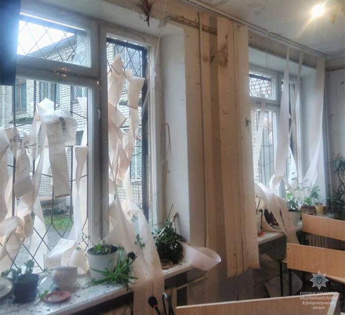 На Днепропетровщине в суде прогремел взрыв, есть погибшие (1)