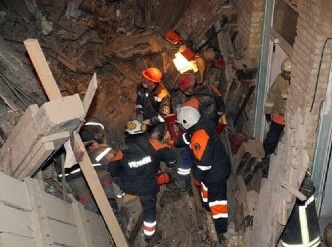 Под завалами дома в центре Киева нашли второго погибшего