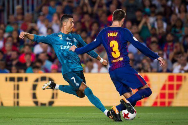 Роналду ледь непобив арбітра під час матчу Суперкубка Іспанії