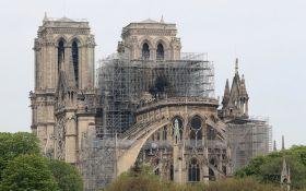 Французька поліція оголосила можливу причину пожежі в Нотр-Дам