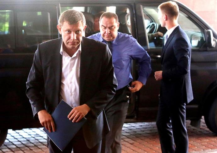 Савченко намагалася прорватися в ДНР і говорила, що бачить Плотницького і Захарченка в Раді (5)