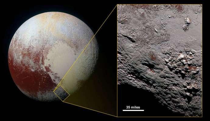 Опубліковано зроблене NASA фото кріовулкана з Плутона