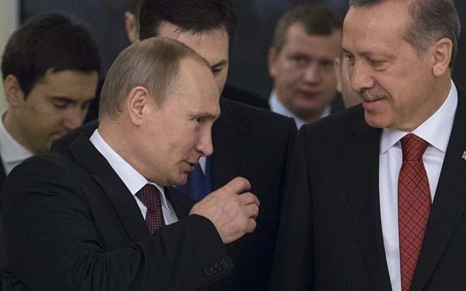 Лист Ердогана Путіну: в Кремлі поправили текст
