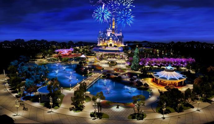 В Шанхае откроют Disney Park