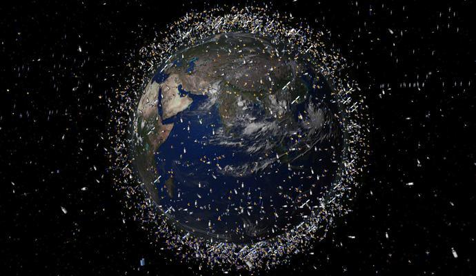 На Земле может начаться война из-за мусора в космосе