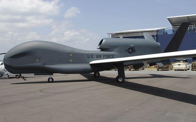 Беспилотник США разведал небо над оккупированным Донбассом