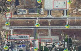 У мережі розкрили розташування путінських літаків в Сирії: фото з супутника