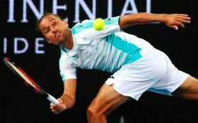 Украинский теннисист проиграл удивительный матч на Australian Open