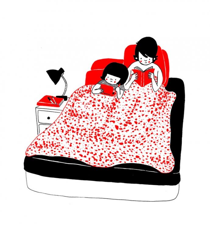 Как прекрасно быть вместе: веселые комиксы о семейной жизни (8)