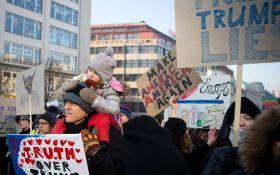 Марш женщин против Трампа: появилось впечатляющее видео