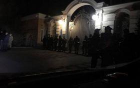 Протесты в Киеве: активисты навестили Порошенко