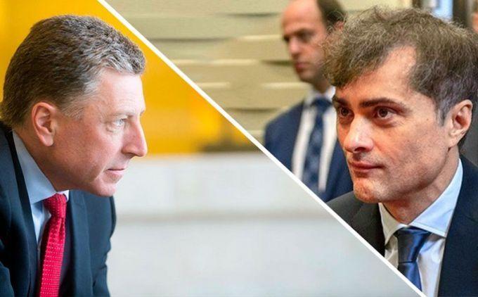 Сурков і Волкер обговорять миротворців наДонбасі