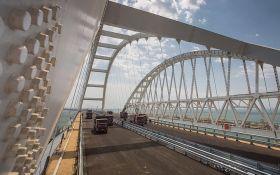 Майже готовий: в мережі з'явилося нове відео Кримського моста
