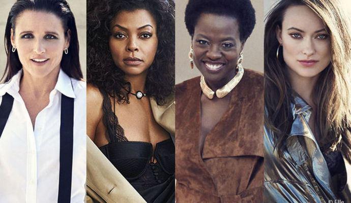 5 лучших женщин на телевидении по мнению журнала Elle (фото)