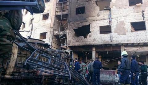 Количество жертв теракта в Дамаске уже больше 60 (1)