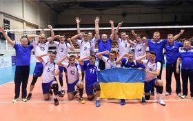 Украинские волейболисты сенсационно вышли на Чемпионат мира