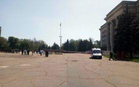 """В Одессе во второй раз за день """"заминировали"""" Куликово поле"""