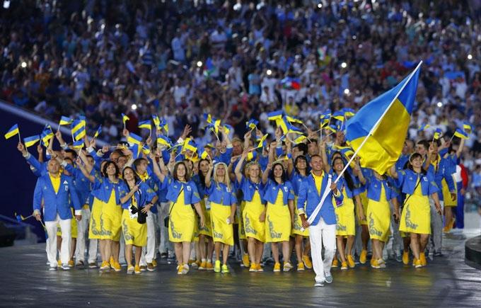 Збірну Україну урочисто проведуть на Олімпійські ігри в Ріо