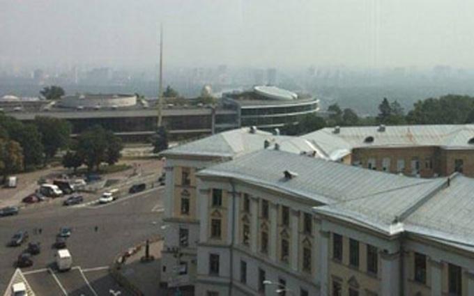 Київ оповив таємничий серпанок: опубліковані фото