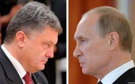"""""""Тайный разговор"""" Путина и Порошенко: в России не опровергают информацию"""
