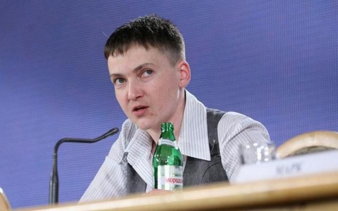 В СБУ розповіли, куди Савченко потрібно спрямувати свою бурхливу енергію