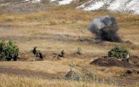 На Донбассе боевики подорвались на собственном минном поле