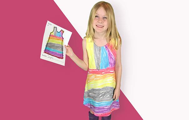 У детей появилась возможность самим создавать дизайн своей одежды: опубликованы фото (1)