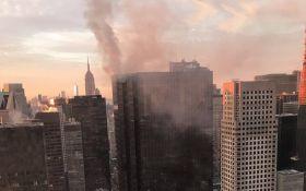 У Нью-Йорку загорівся хмарочос Трампа: опубліковано відео