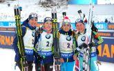 Україна впустила медаль в естафеті на Кубку світу з біатлону